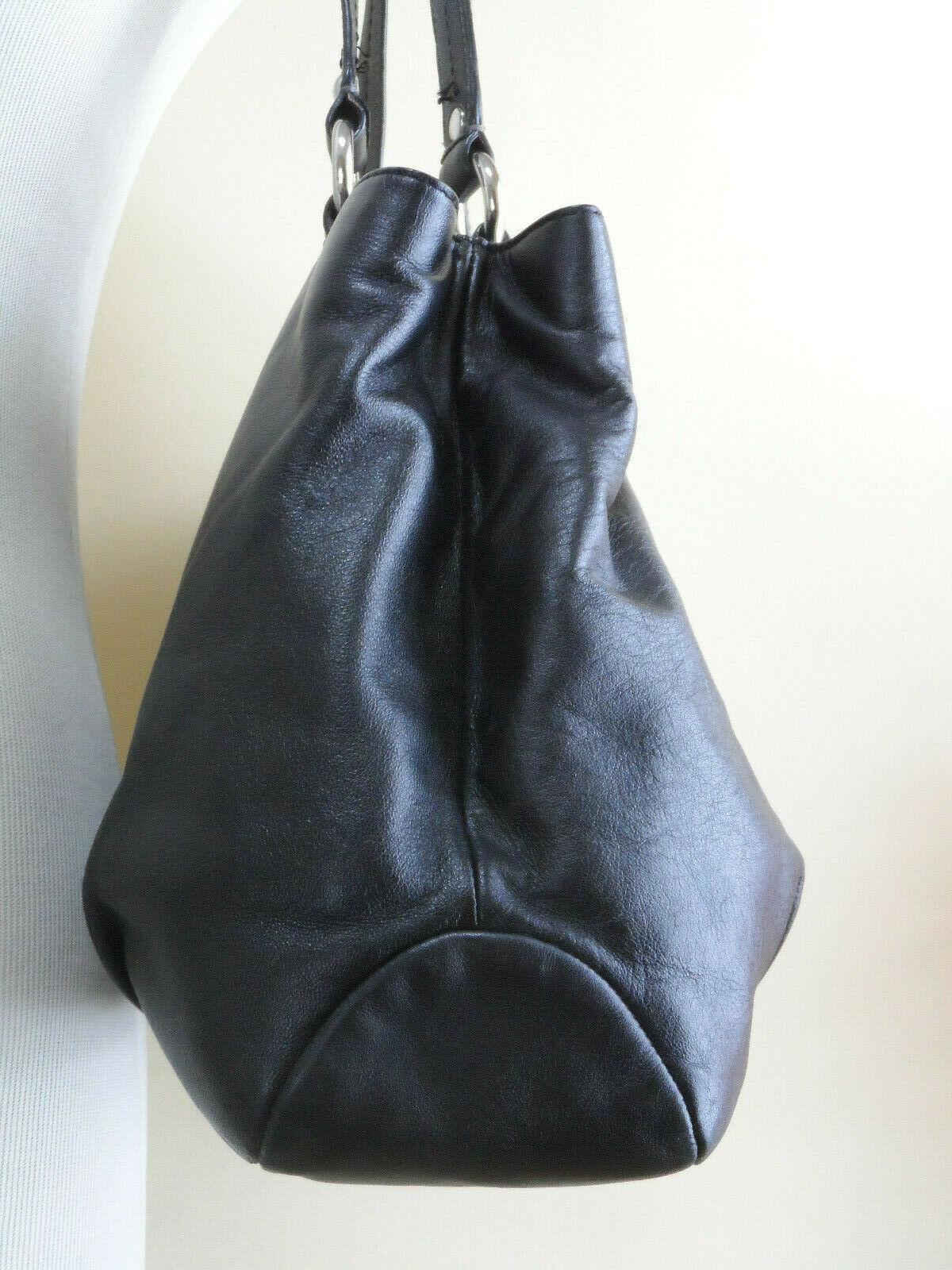e25b17e9767f Coach SoHo F18751 Black Leather Flap Buckle and 29 similar items