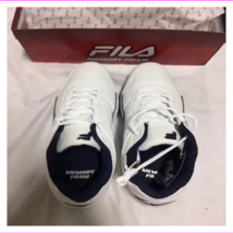 Fila Men's Faux Leather Upper And Round toe And Cushioned Heel Counter S... - $15.50