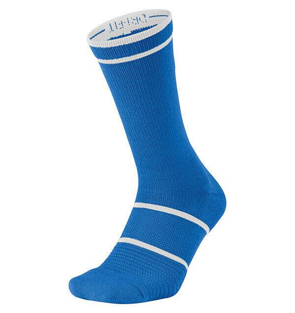 New Nike Court Essential Tennis Crew Dri-Fit Socks Large SX6913 Rafa Federer L/R