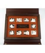 1973 Norman Rockwell Fondest Memories 10x .925 Plateado Barras 1st Edici... - $2,401.32