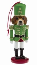 BEAGLE DOG CHRISTMAS ORNAMENT NUTCRACKER SOLDIER HOLIDAY XMAS 5 inch - $12.98