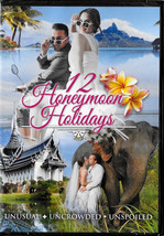 12 Honeymoon Holidays - Sealed DVD - Journeys of the Heart to Farawy Places - $8.49