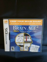 Brain Age 2: More Training in Minutes a Day (Nintendo DS, 2007) image 1