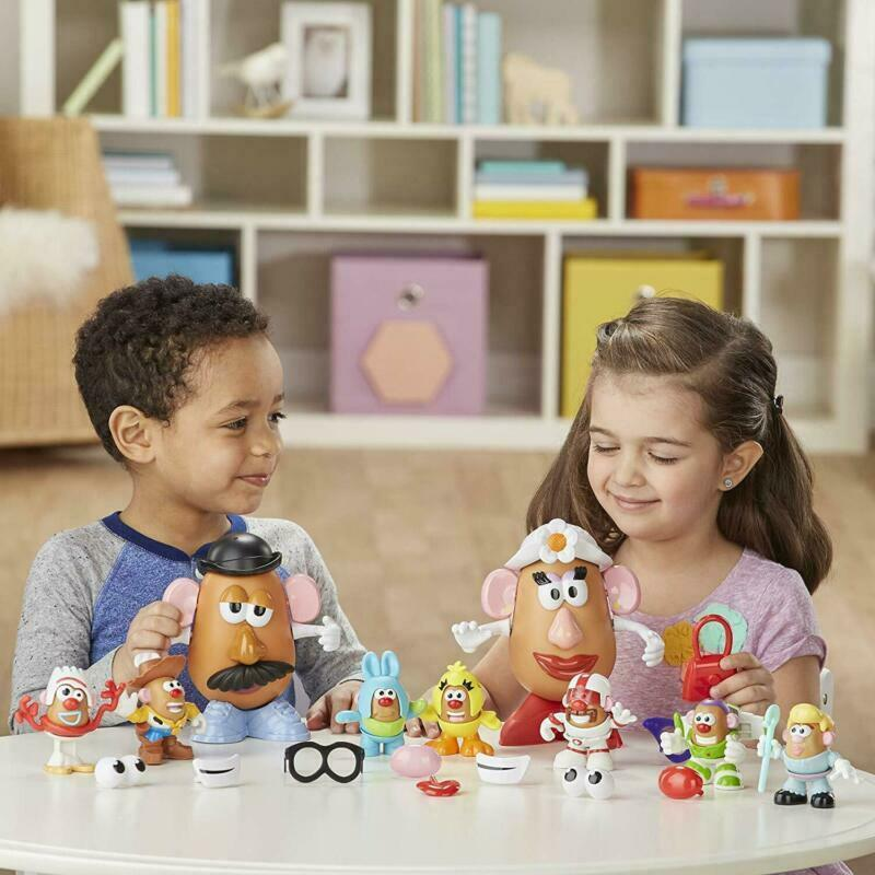 Mr Potato Head Disney/Pixar Toy Story 4 Andy'S Playroom Potato Pack Toy For Kids image 5