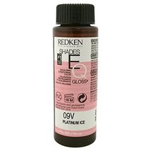 Redken Shades EQ 09V Platinum Ice Color Gloss for Women, 2 Ounce - $11.62
