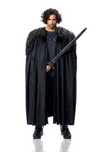 Kostüm Kultur Franco Game Of Thrones Umhang Jon Schnee Halloween Kostüm ... - $42.09
