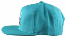 Hall Of Fame H Hound Wool Blend Embroidered Turquoise Snapback Baseball Hat Cap image 5