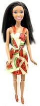 Barbie Doll DESIREE FACE AA Black Brown Hair Articulated Knees Nikki Dre... - $5.93