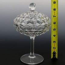 Fostoria American Crystal Bowl Footed Jelly with Cover image 2