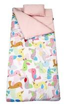 SoHo Kids Sleeping Bag 50 Degree, Pink Flamingo - £27.66 GBP