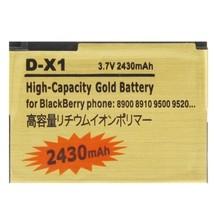 2430mAh D-X1 High Capacity Golden Edition Business Battery for BlackBerr... - $23.49