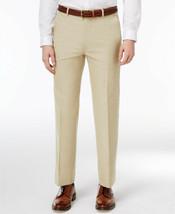 New Mens Tommy Hilfiger Flat Front Stretch Dress Pants 33 X 32 - $34.64