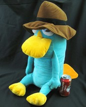 "Disney Store Large Perry the Platypus Plush  20"" Secret Agent Pet Phinea... - $23.71"
