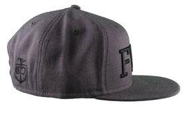 Crooks & Castles F.W.U Fu*k with Us Heather Charcoal Snapback Baseball Hat NWT image 3