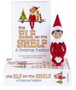 Elf on the Shelf Blue Eye Boy Doll & A Christmas Tradition Book - $64.95