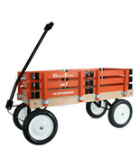 BERLIN FLYER CLASSIC ORANGE Wooden No Tip WAGON -  MADE in the USA - $225.37