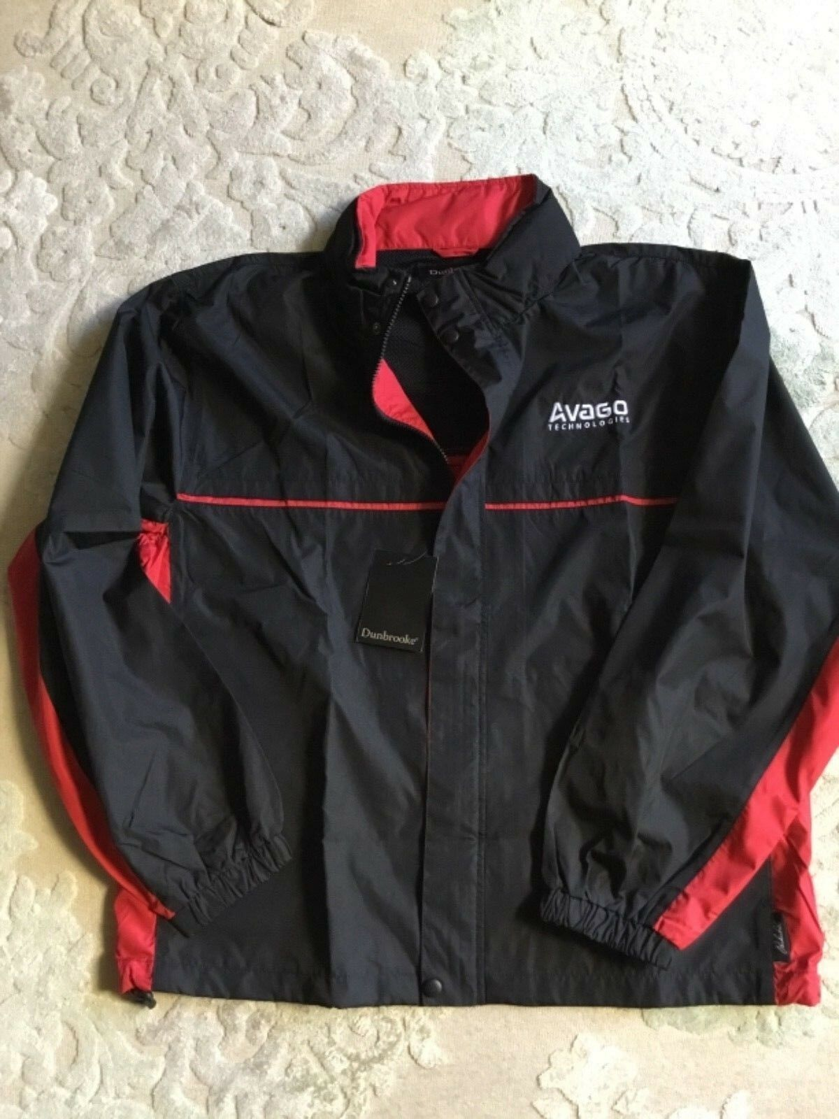 Primary image for New WT Avago Dunbrook  Black Jacket Windbreaker Size L