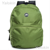 NEW Green Lightweight Unisex Compact Size Fashion Backpack Shoulder Book... - $23.99