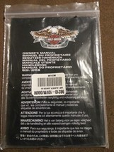 Harley Davidson Motorcycles OEM Helmet with Sunvisor HD-J1V Owners Manual ONLY - $8.90