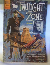 COMIC Twilight Zone #01-860-207 Rod Serling 15 cent 1962 May-July DELL Fine 6.0 - $25.00