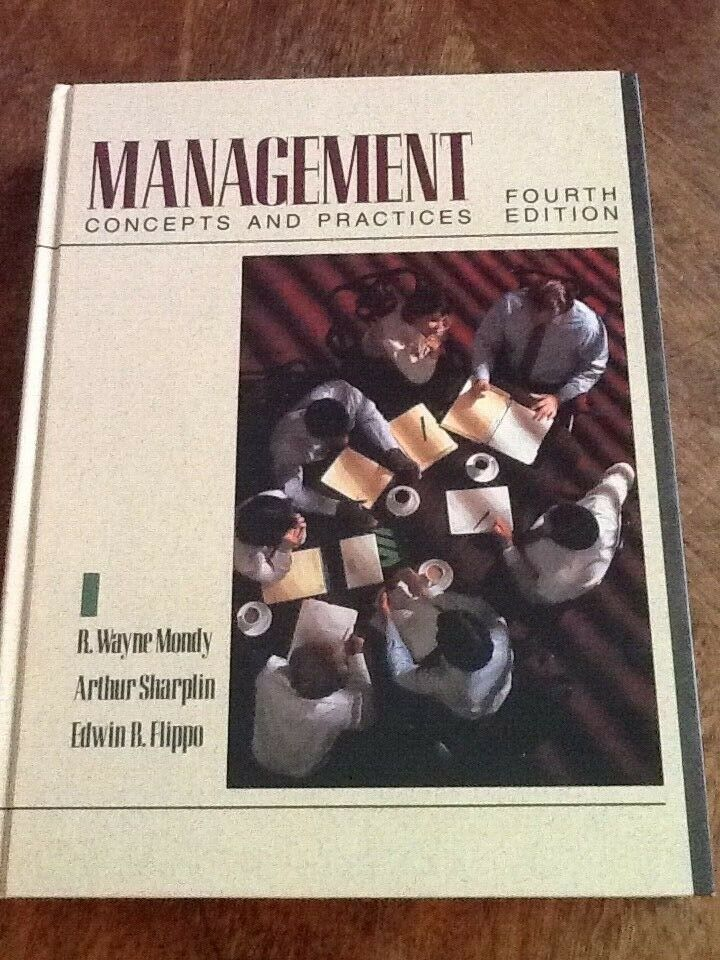 Primary image for Management Concepts and Practices 4th Edition USED Hardcover Book