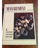 Management Concepts and Practices 4th Edition USED Hardcover Book - $1.98