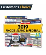2019 Rhode Island State & Federal Labor Law Posters for Workplace Compli... - $13.62