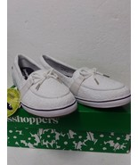 Grasshoppers Women's Windham Eyelet White Sneaker - Womens Size 10M - $49.16