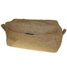 Natural Jute Toiletry Cosmetics Travel Bag Makeup Environmentally Friendly - £7.25 GBP