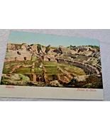 Vintage 1955 Postcard Ruinas de Italica Sevilla Spain True Photo Technicolour - $4.27