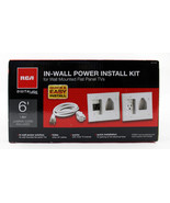 RCA Electronics DH150F ES CAW In-Wall Power Installation Kit for Flat Pa... - $46.81