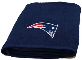 New England Patriots Bath Towel dimensions are 25 x 50 inches - $17.95