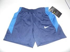 Boy's Nike Dri Fit Blue Pocket Shorts 3T NWT - $11.88