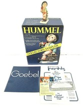 "Hummel Goebel ""Merry Wanderer"" Figurine 11 2/0 Boy w/ Suitcase & Umbrell... - $62.68"