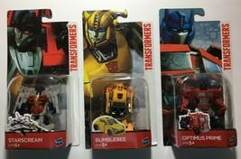 New : Hasbro Transformers 1st Edition Optimus Prime Bumble Bee Starscrea... - $19.79