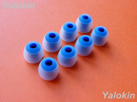 8 pcs Small (C-BL) Replacement Eartips Gels Adapters for Jaybird X3 Headphones - $11.85