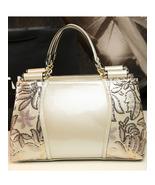 Women White color Handbag Shoulder Purse PU Leather Ladies Messenger Hob... - $79.99 - $79.99
