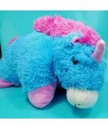 """Pillow Pets Pink Blue Magical Unicorn Stuffed Animal Plush 18"""" x 18"""" Pin... - $26.72"""