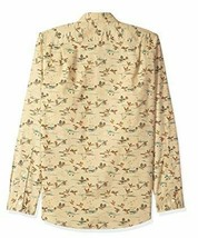 Goodthreads Men's Slim-Fit Long-Sleeve Printed Poplin Shirt,Brown Duck Print NEW image 2