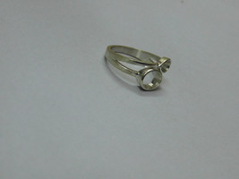925 sterling Silver mount Ring, Oval- 8X6 mm,RI-0263,ring,all size avail... - $11.70