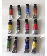 Lot of 12 Sennelier l'Aquarelle Artist Watercolor Paint Tubes 10ml Payne... - $96.04