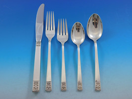 Laureate by Towle Sterling Silver Flatware Set for 12 Service 71 pieces c1968 - $4,650.00