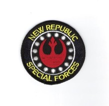 Star Wars: New Republic Special Forces Logo Embroidered  Patch NEW UNUSED  - $5.94