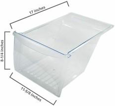 Crisper Pan Drawer 240337103 For Frigidaire FRT18L4FW3 FFTR1821QW3 FRT18L4JW0 - $84.81