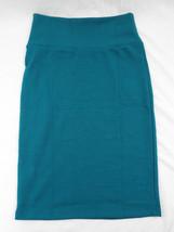 Womens LuLaRoe Cassie Skirt XS Dark Green Blue Spruce   NWT - $36.17