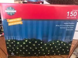 December Home 150 LED NET Lights 24sq.ft. Indoor/Outdoor Ships N 24h - $21.76