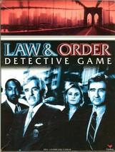 Law & Order Detective Crime Solving Game 2-4 players Age 13+ New - $9.47