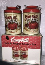 Campbell Soup Tin Salt and Pepper Shakers by Giftco