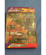 Toys Action Wheels NIB Army Die Cast Metal Play Set 16 pieces - $8.95