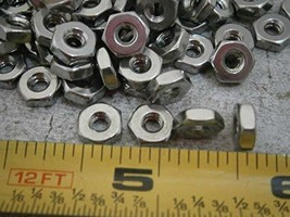 Hex Nuts #6/32 Stainless Steel LOT of - 50#5031 - Quality Assurance from... - $22.31